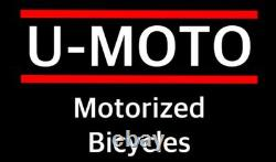 Nouveau Design 80cc / 100cc 2-stroke Motorized Bike Moteur Pour Kits De Puissance De Bicyclette