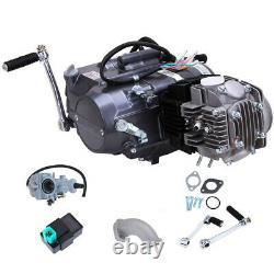 Nouveau Moteur 125cc Motor 4 Stroke Moto Dirt Pit Bike Pour Honda Crf50 Xr50 Ca