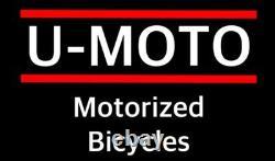 Pièces Pour Moteur 49cc Motorisé Bike Kit 4 Temps Transmission À Chaîne Unique X 2