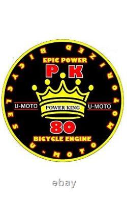 Plus Powerful 2-stroke 66cc/80cc Motorised Bike Engine Uniquement Pour Les Cuisins De Diy Bikes