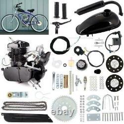 Pour 80cc Bicycle Motor Kit Bike Motorized 2 Stroke Petrol Moteur À Essence Ensemble Complet Us