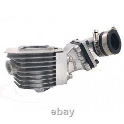Puissance Dio Reed Diy 2 Temps 66cc/80cc Complete Motorized Bike Engine Pk80