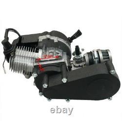 Pull Start 49cc 50cc 2 Stroke Engine Pour Pocket Bike Mini Dirt Pit Bike Quad Vtt