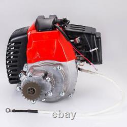 Pull Start Engine Pour Motor Scooter Pocket Dirt Bike Mini Chopper 49cc 2-stroke