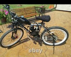 Us Full Set 80cc Bike Bicycle Motorized 2 Stroke Petrol Gas Motor Engine Kit Set