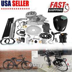 Us Ship 50cc 2 Stroke Motorised Bike Gas Motor Engine Kit Motorized Push Bicycle