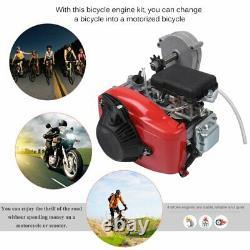 Vélo Motorisé 49cc 4-stroke Essence Essence Moteur Moteur Motor Kit Chain Scooter