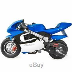 Xtremepowerus Gaz Pocket Bike Moto 40cc 4 Temps